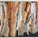 Composizione - 2008 - 70x50cm - collage di carte su cartoncino