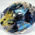Piatto raku - 2001 - Ø 18cm