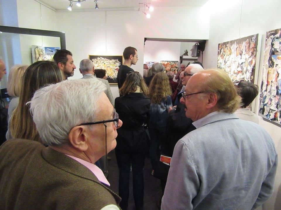 Rimandi Esistenziali, inaugurazione della mostra alla galleria AB Arte di Brescia